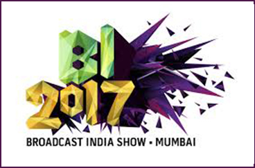 Commedia present at Broadcast India show 2017